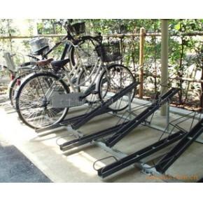 批发供应兔牌两层自行车停放架