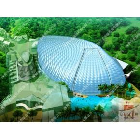 辽源展览中心膜结构
