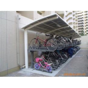 批发供应兔牌立体式两层自行车停车架