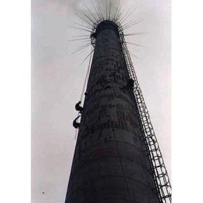松原市专业高空烟囱|烟囱维修|裂缝修补|烟囱工程公司