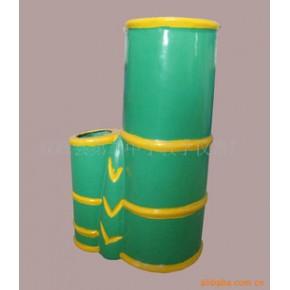 垃圾桶 竹型 湖南双峰 玻璃钢