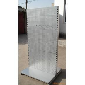 立拓金属孔板展示架,孔板双面展示架200901