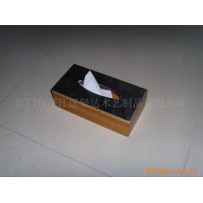 长方形纸巾盒/竹制品 JD