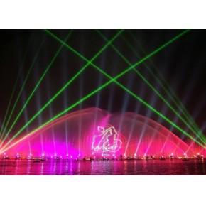 喷泉激光灯