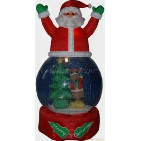 充气圣诞老人/雪人球/圣诞装饰品圣诞用品