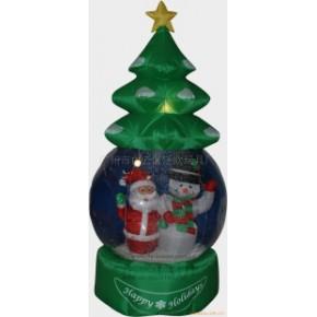 工艺品共一批210公分圣诞树充气雪花球