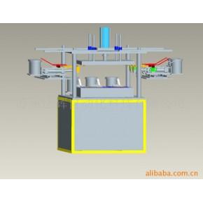 冲压机械手连线送铆钉自动铆合机,气液增压缸及PLC控制系统