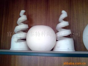 【陶瓷阀门内衬】 高纯氧化铝 99.5(%) 宜兴 阀
