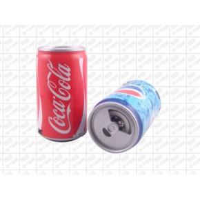 可乐易拉罐插卡音箱 悦颂可乐音箱T65创意音箱批发