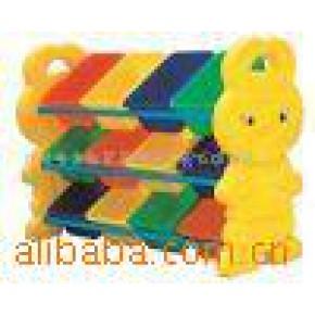【】儿童塑料家具/玩具架/收拾架