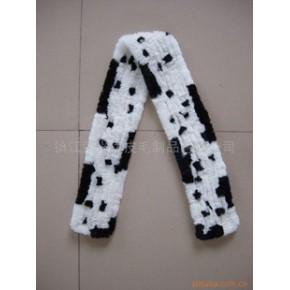 兔皮编织围巾 多款供选 多款供选