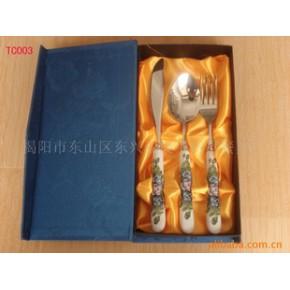 不锈钢陶瓷餐具 陶瓷精品餐具