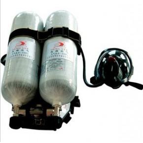 正压式空气呼吸器。空气呼吸器。