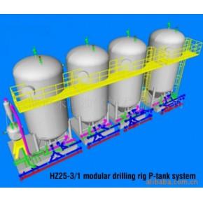 提供海洋石油钻机模块灰罐系统设计服务