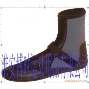neoprene材质的潜水鞋 冲浪鞋 侧面有拉链