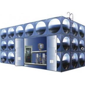 无负压不锈钢智能化箱式泵站