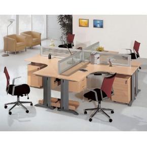 木质版板式屏风办公家具-福州推荐板式屏风-经典版板式屏风