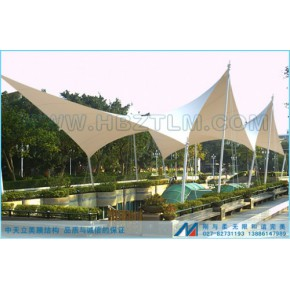江西省上饶市张拉景观膜结构