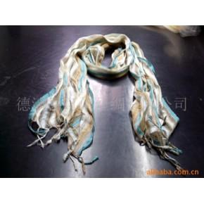 真丝围巾 织造 平纹 中长