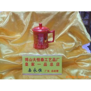 批发供应中国红瓷 器皿 中国红瓷