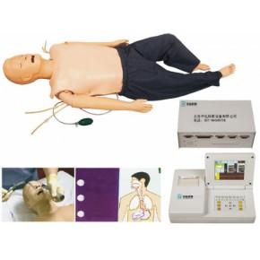 高级多功能急救训练模拟人(心肺复苏CPR与气管插管综合一体功