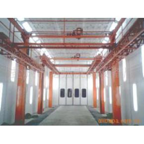 涂装流水线喷漆房升降机 固定式升降台