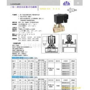 进口电磁阀 永创 碳钢 YCP31