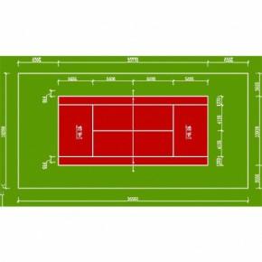 运动室内外篮球场、网球场、羽毛球场地板