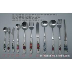 :不锈钢陶品餐具,陶瓷餐具