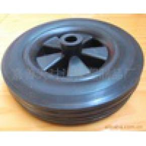 橡胶轮/实心轮子/行李车轮子/手拉车轮子/胶轮
