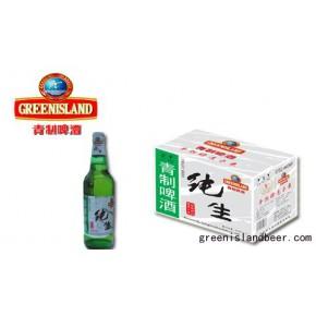纯生青制啤酒