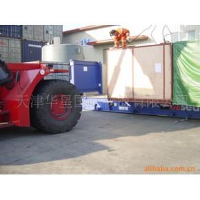 提供开顶、框架箱等特种箱国际海运服务