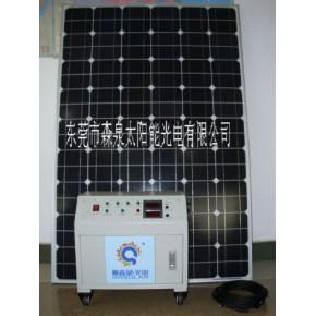 经济型300W移动式太阳能发电机