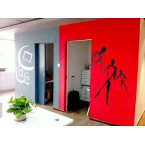 青岛市南区墙体彩绘多少钱一平 市南区墙体彩绘公司 智盛