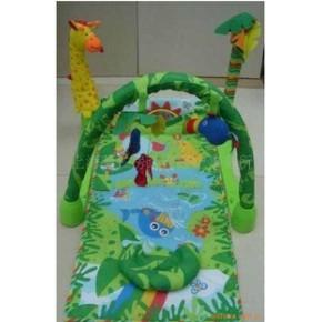 批发供应三合一游戏毯 动物乐园绿色世界
