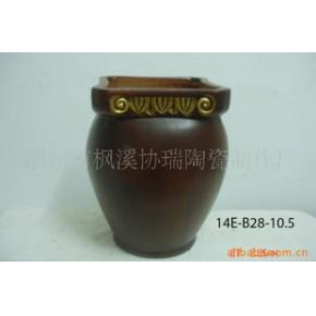 陶瓷花盆 巴诺克 花盆
