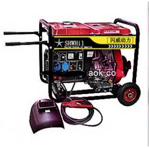 可长时间焊接6.0焊条 300A柴油发电电焊机