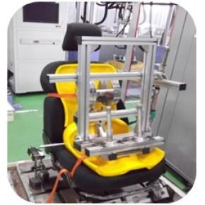 座椅升降机构耐久试验台