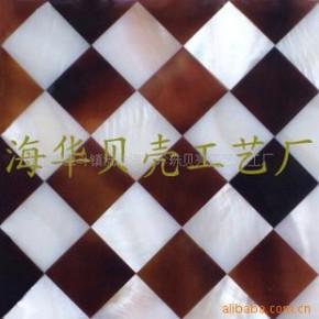 批发供应贝壳装饰板,天然贝壳马赛克