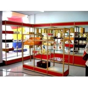 天津钛合金货架厂,钛合金展柜,精品展柜,饰品展柜,服装展柜,鞋店展示柜,货架批发零售