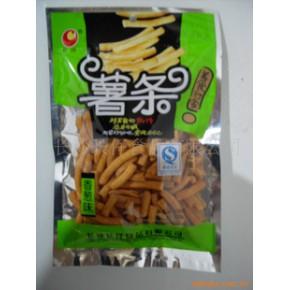 薯条(香葱味)膨化食品 长仔