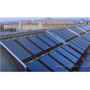 西北太阳能集体热水器 甘肃住宅区太阳能工程承包 福瑞