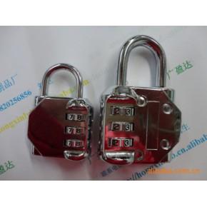新款密码锁,箱包挂锁,礼品盒锁扣,产品环保