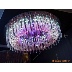 低压水晶灯 低压平板水晶灯 现代水晶灯  现代水晶灯工程灯