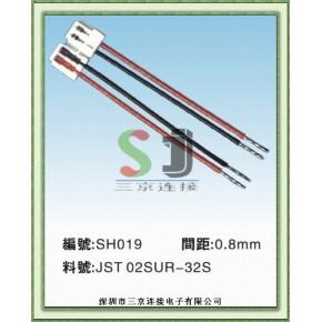 JST 02SUR-32S刺破式连接器