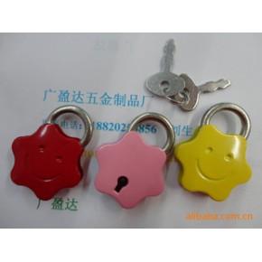 五角星小挂锁,礼品盒饰品锁,小密码锁,