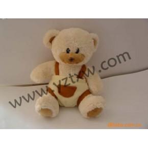 背带裤熊玩具