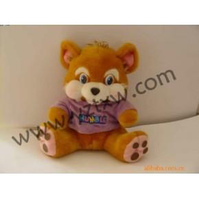 穿衣坐熊玩具