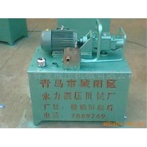 山东63升卧式双联液压泵