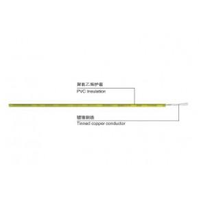 上海联嘉祥电线电缆 UL 1007 PVC 连接线耐高温线环保线